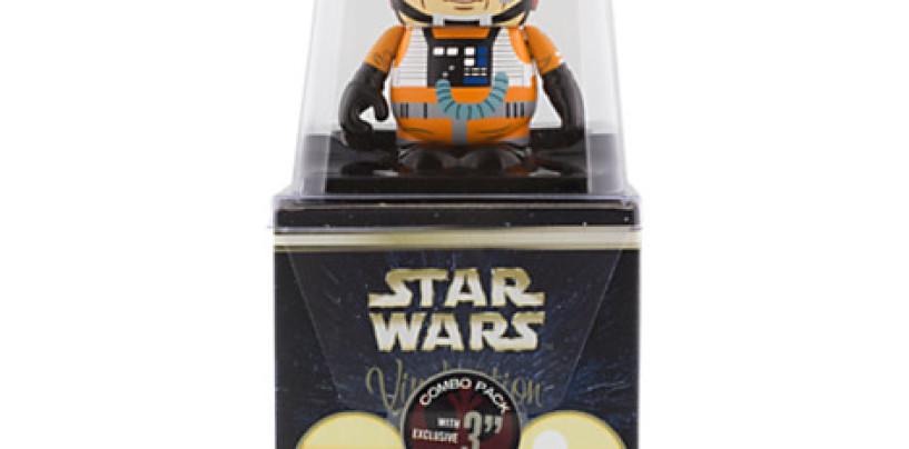 Luke Skywalker Star Wars 5 Combo Topper Vinylmation Out Now