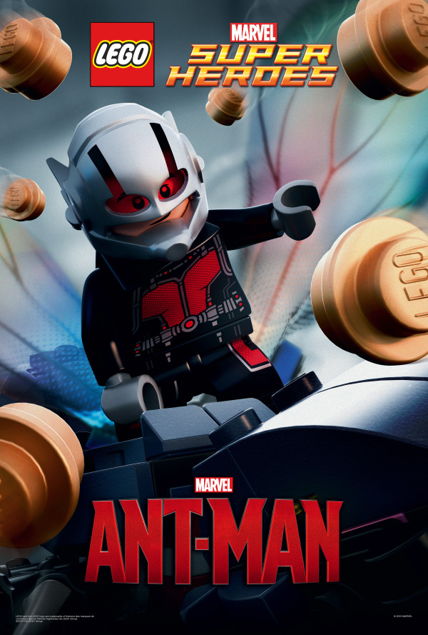 Lego Celebrates Ant-Man Movie with Poster Variant