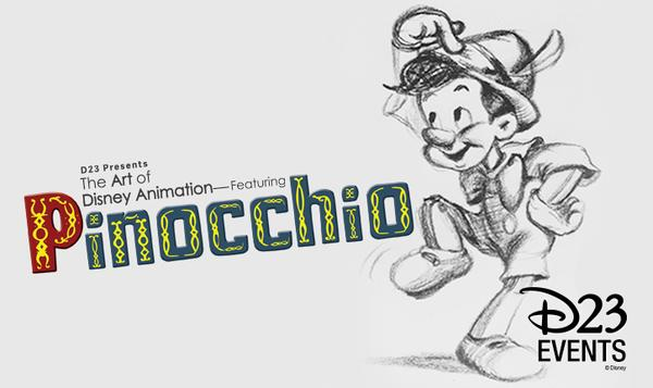 The Art of Disney Animation—Featuring 75 Years of Pinocchio