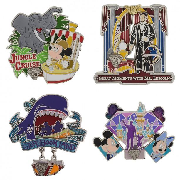 New Pins Debut for the Disneyland Resort Diamond Celebration