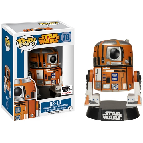 R2-L3 Star Wars Pop Vinyl Exclusive Coming To DorkSide Toys