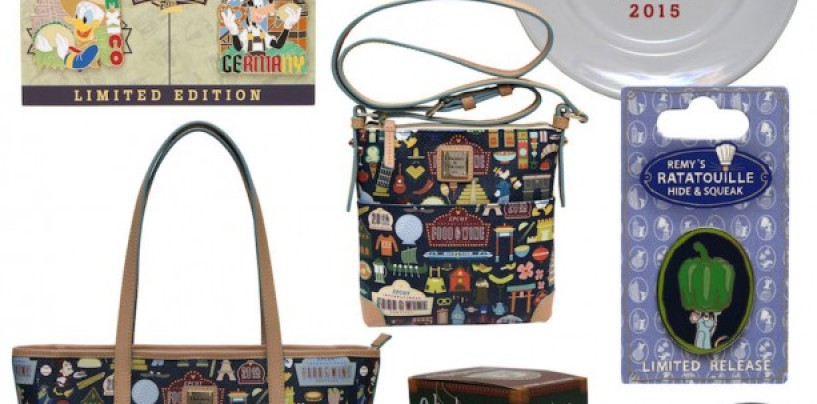 First Look at Commemorative Products for 20th Epcot International Food & Wine Festival