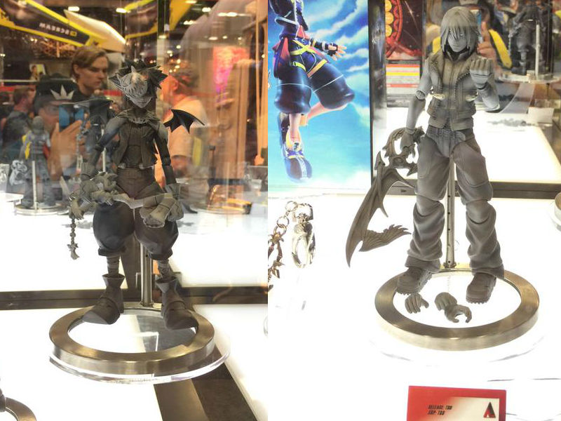 Play Arts Kai Reveal Two New Kingdom Hearts Figures