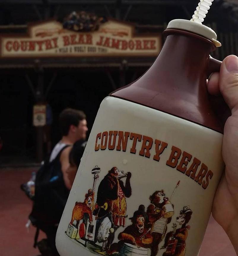 Country Bears Souvenir Mugs Arrive at Peco's Bill at the Magic Kingdom Walt Disney World