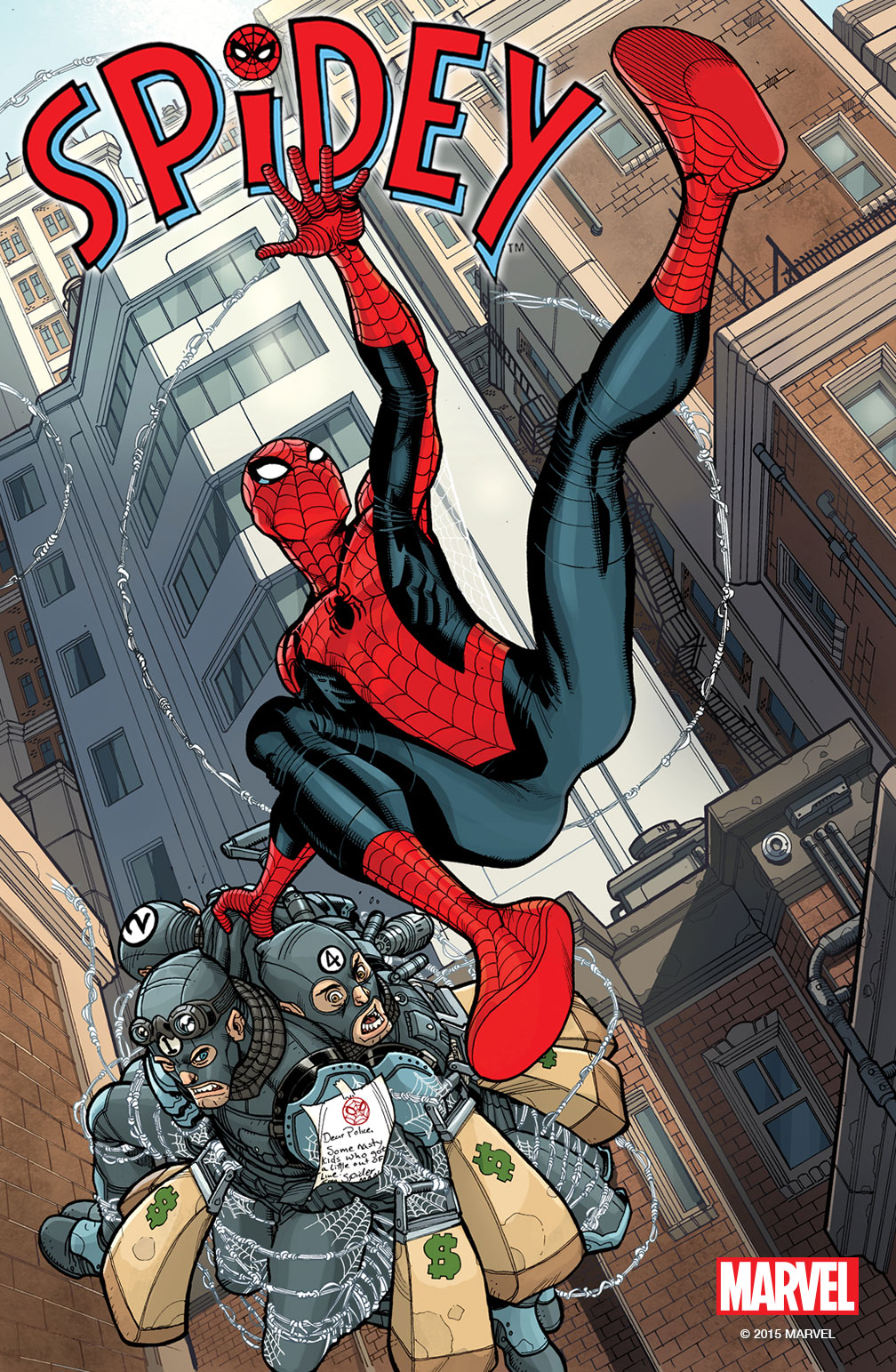 "Marvel To Launch ""Spidey"" Comic Book Later This Year"