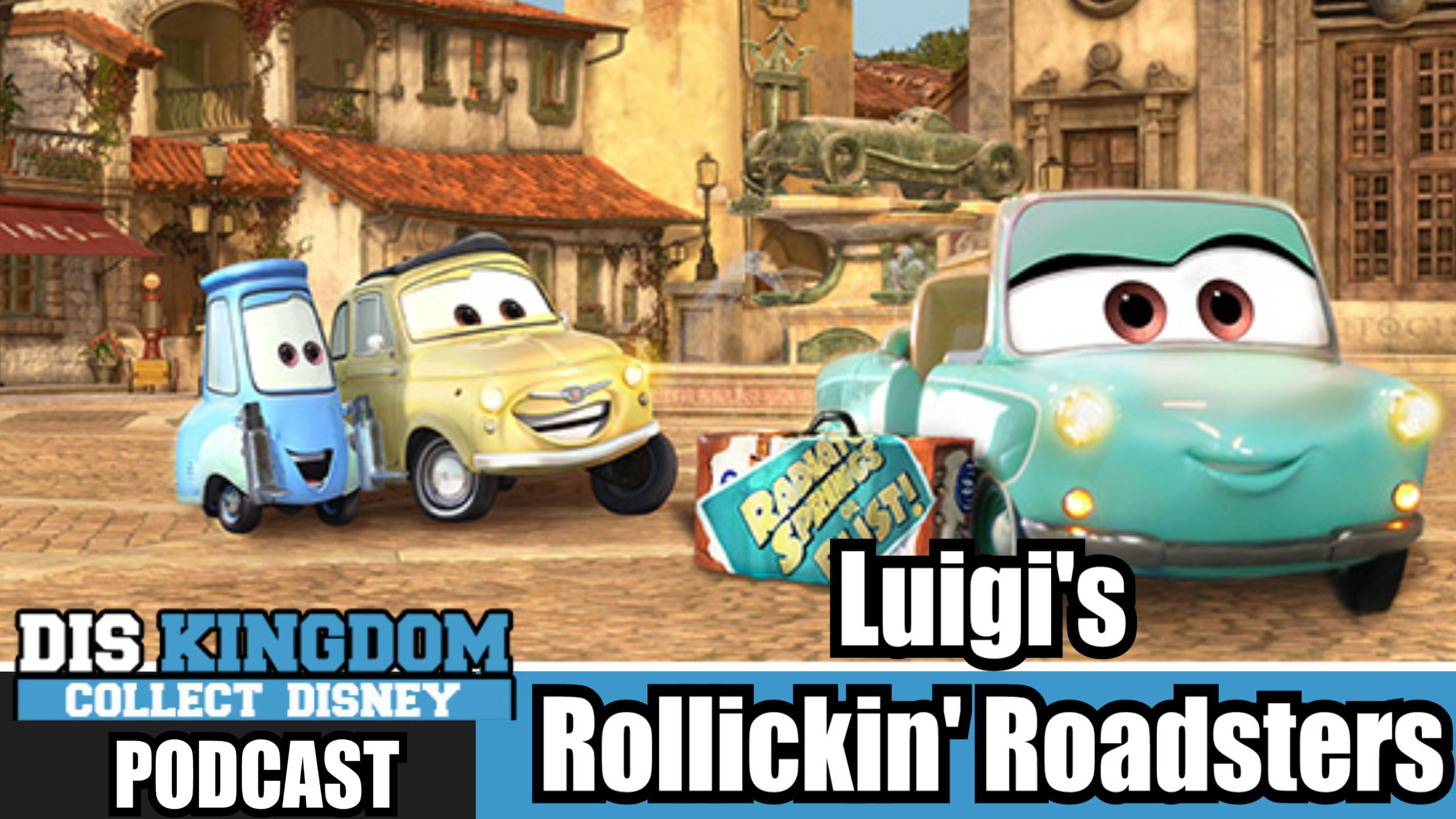 Luigi's Rollickin' Roadsters –  DK Podcast