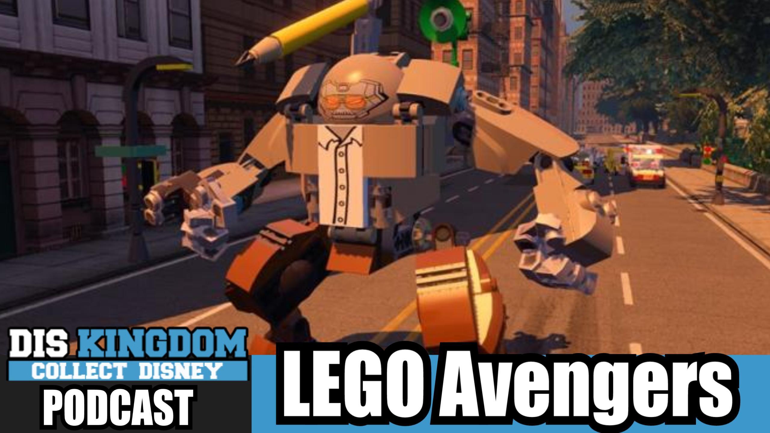 LEGO Avengers At SDCC + New Characters Coming Soon – DK Podcast