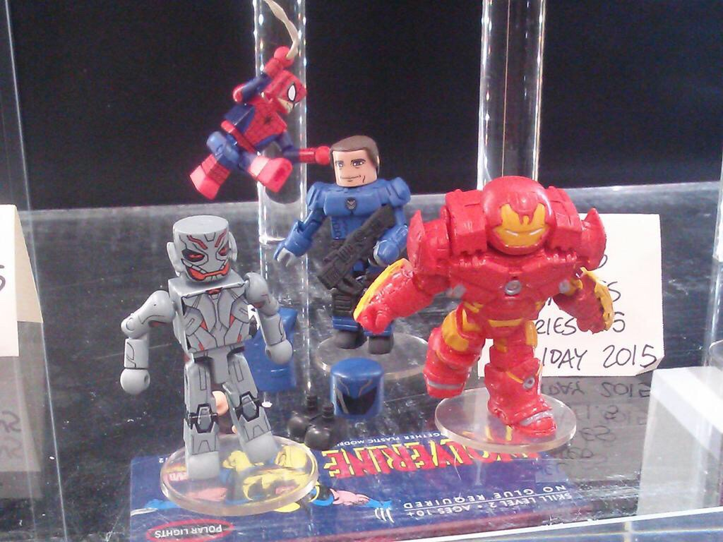First Look At Marvel Minimates Series 1.5 Coming To Walgreens – SDCC