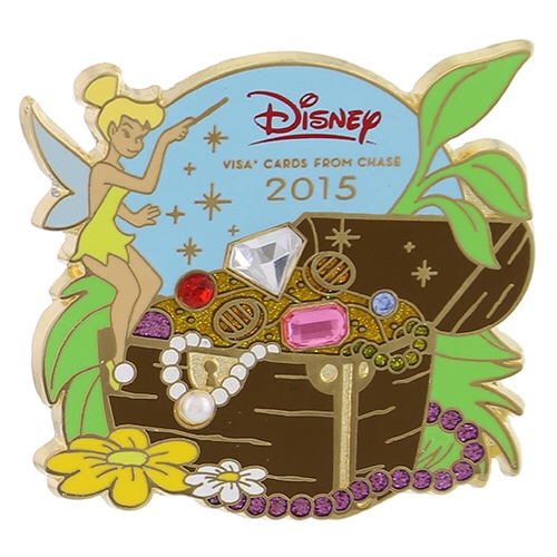 Details On Disney Visa Exclusive Tinker Bell Pin