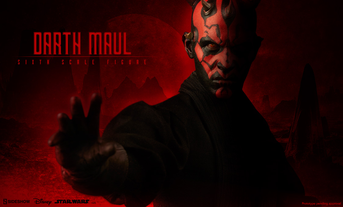 SideShow Collectible Star Wars Darth Maul Sixth Figure Preview