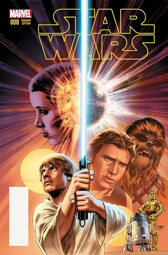 Luke Skywalker's Journey Continues – Your First Look at STAR WARS #8!