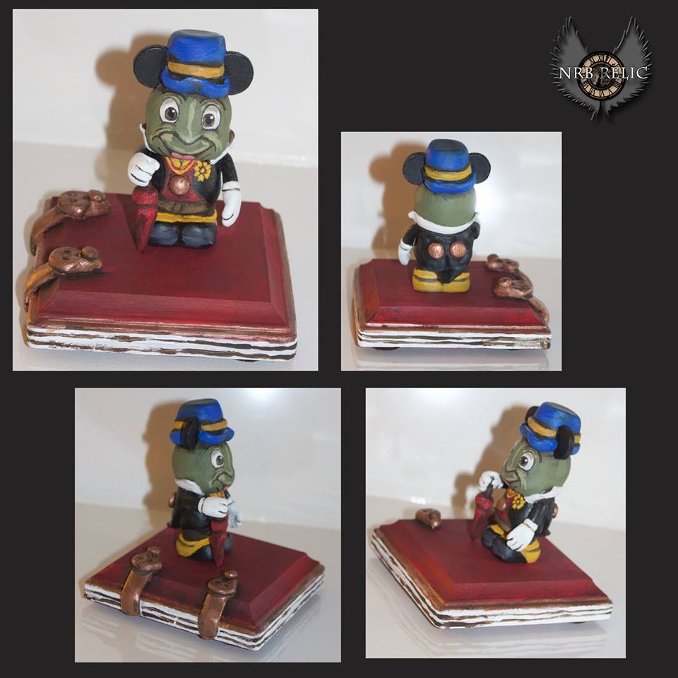 Custom Vinylmation Artist Nrb Relic Heading To D23 Expo