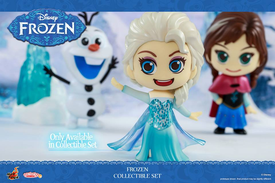 Frozen Cosbaby Figures Coming Soon
