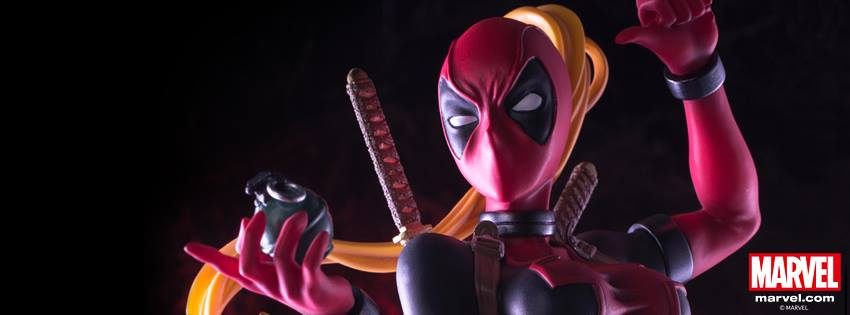 Lady Deadpool Kotobukiya Figure Coming Soon