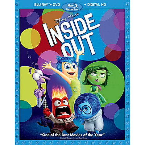 Inside Out Coming To Home Video In November