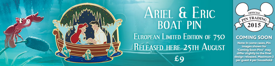 New Little Mermaid Pin Coming To Europe