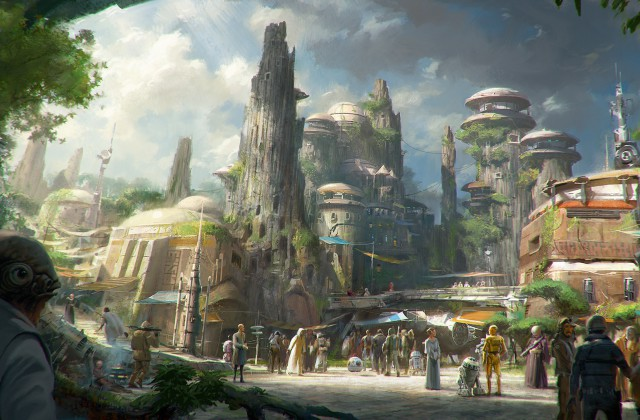 More Details On The Star Wars Expansions To Walt Disney World and Disneyland