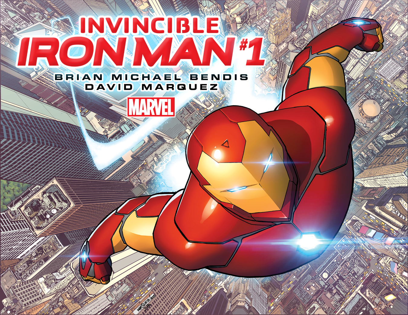 Suit Up With Your New Look at INVINCIBLE IRON MAN #1!