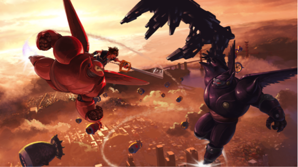 KINGDOM HEARTS III TO INCLUDE BIG HERO 6