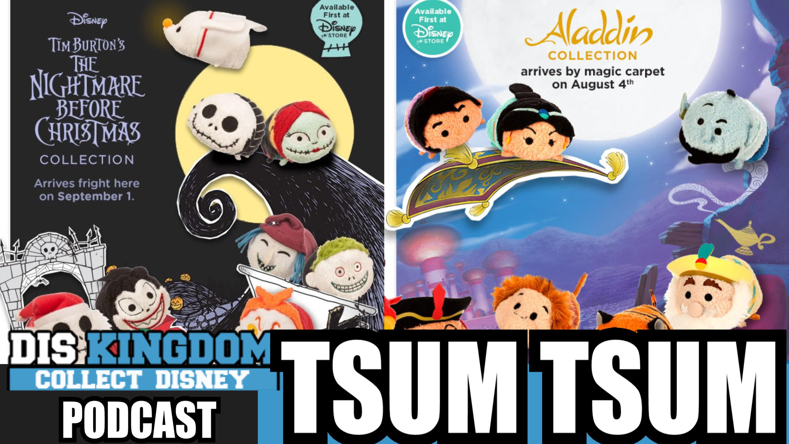 Tsum Tsum Tuesday Aladdin, Expressions and Nightmare Before Christmas