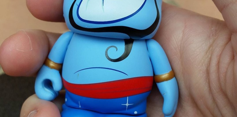 And The Aladdin Vinylmation Chaser Is?