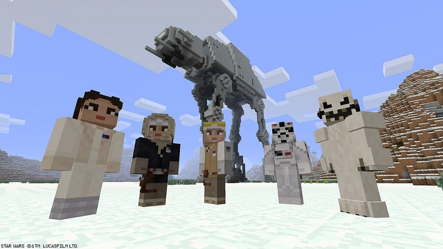 Star Wars Skin Packs Come To Minecraft