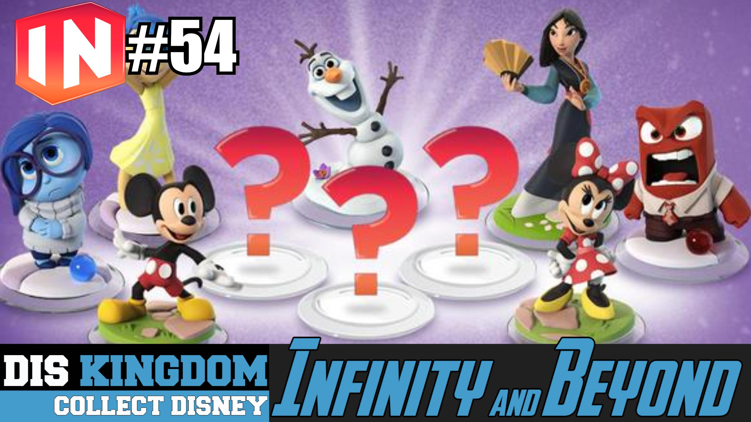 Disney Infinity 3.0 & Beyond #54 – D23 Expo, 3 New Characters & More