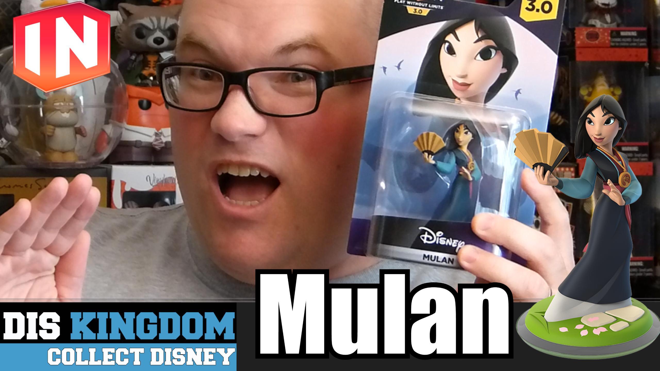Disney Infinity 3.0 Mulan Unboxing
