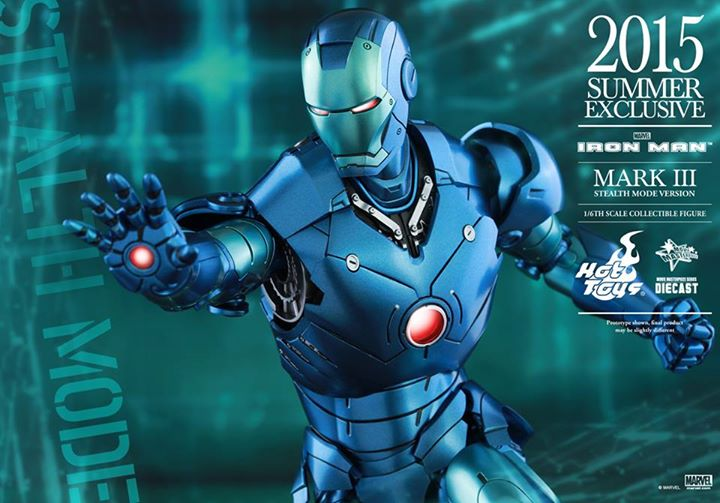 Details On 1/6th scale Iron Man Mark III (Stealth Mode Ver) Figure From Hot Toys