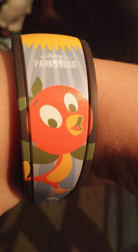 Details On Special Disney Parks Blog Orange Bird MagicBand