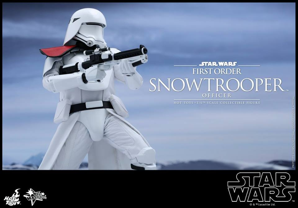 Details On Hot Toy's Star Wars First Order Snowtrooper Officer Figure