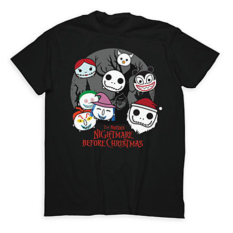 Limited Release Nightmare Before Christmas Tsum Tsum T-Shirts Released
