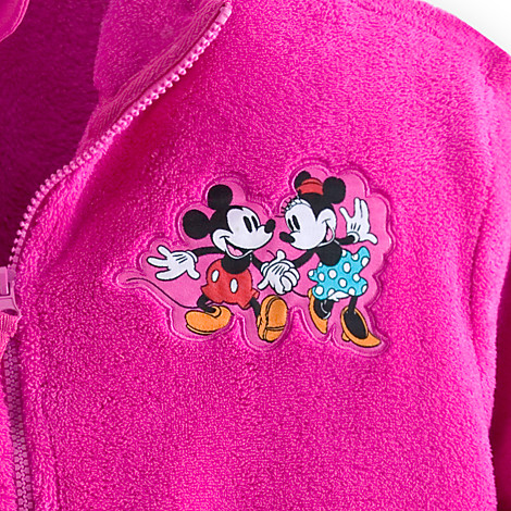 New Fleece Jackets for Men and Women at the Disney Store!!!