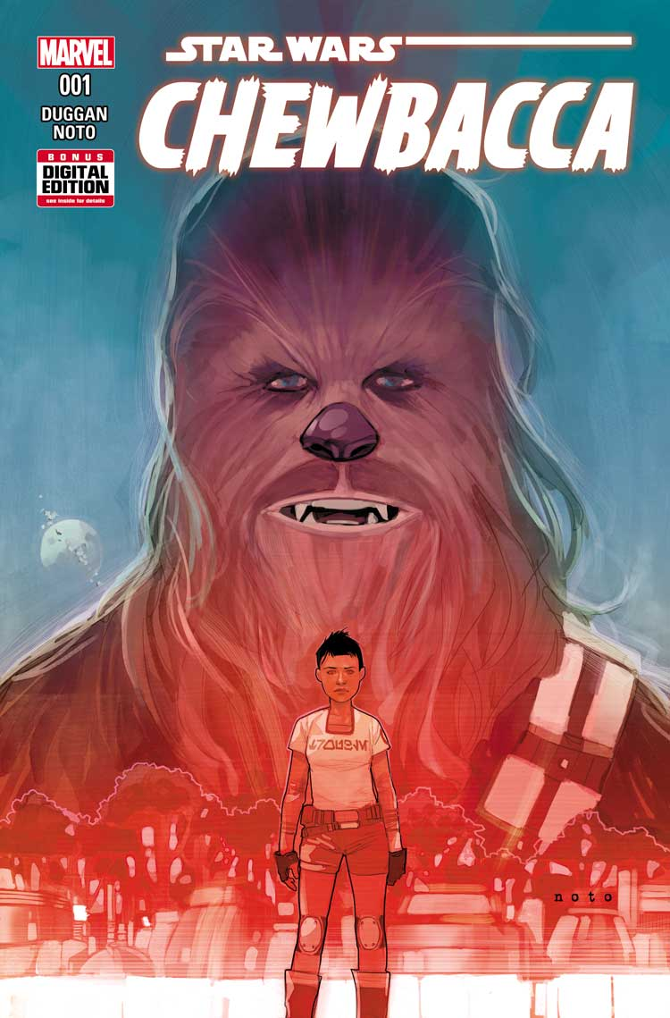 CHEWBACCA #1 Flies Solo This October in New Series!