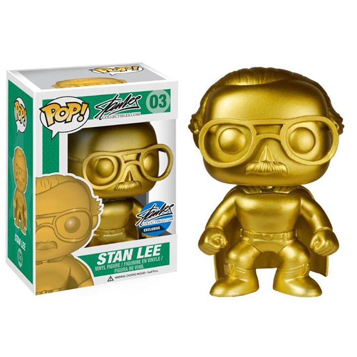 Stan Lee Collectibles Booth NYCC Exclusive