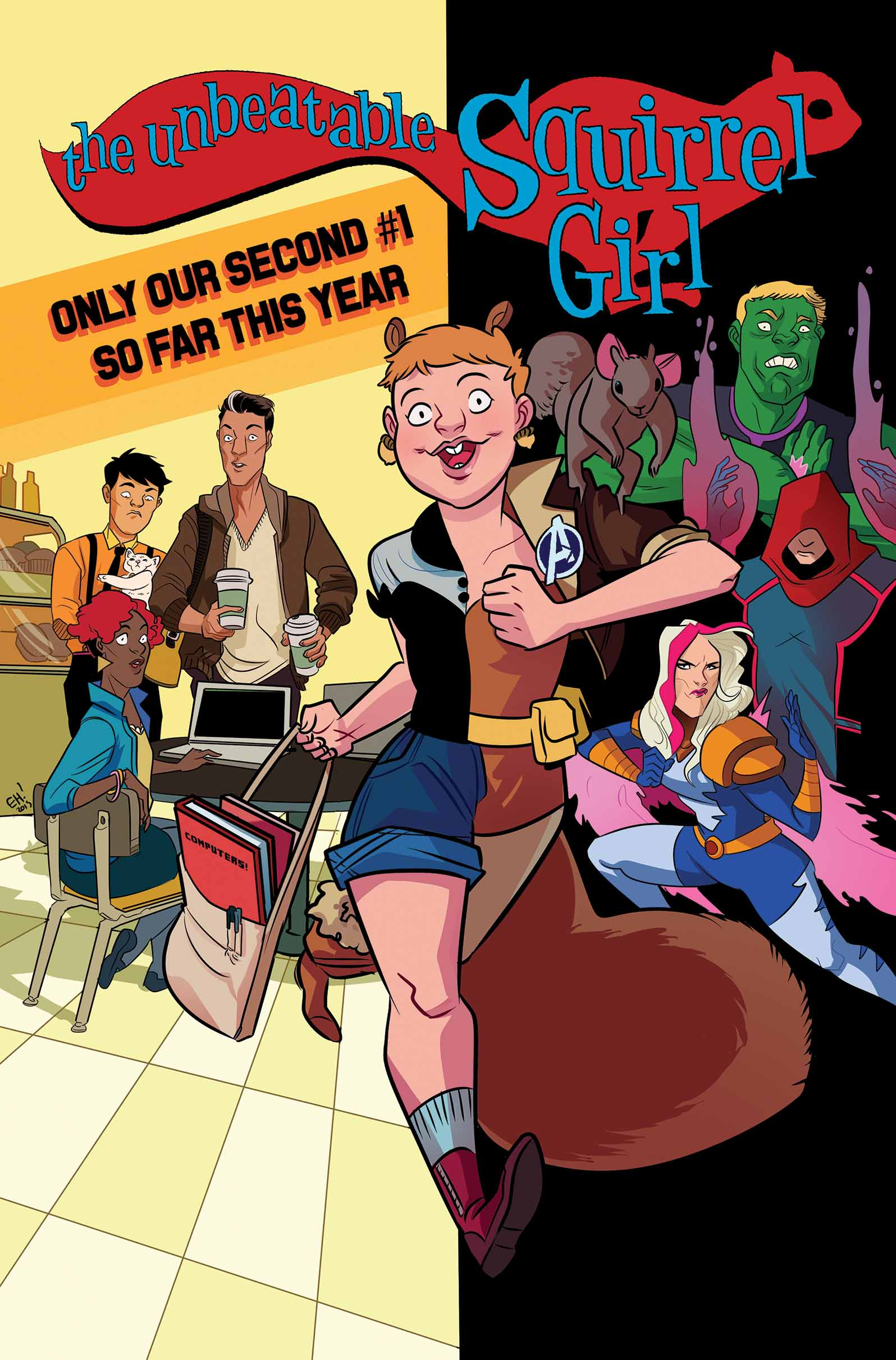 Everyone is Going NUTS For The Unbeatable Squirrel Girl!