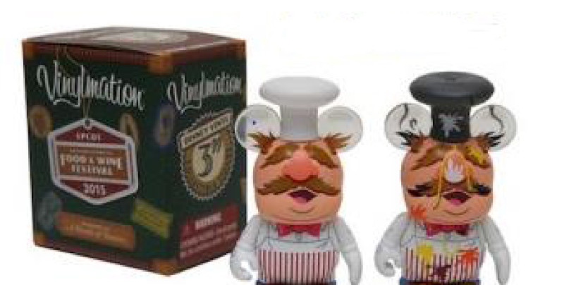 Epcot Food & Wine Festival Muppet's Swedish Chef Vinylmation Eachez Coming Soon