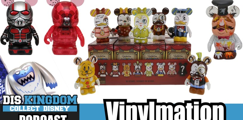 Miss Mindy, Park Starz Variants & Ant-Man Vinylmation News – DK Podcast