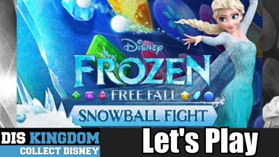 frozen free fall snowball fight lets play