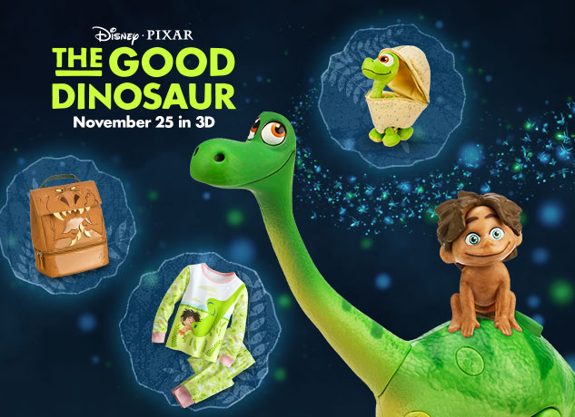 The Good Dinosaur Merchandise Released