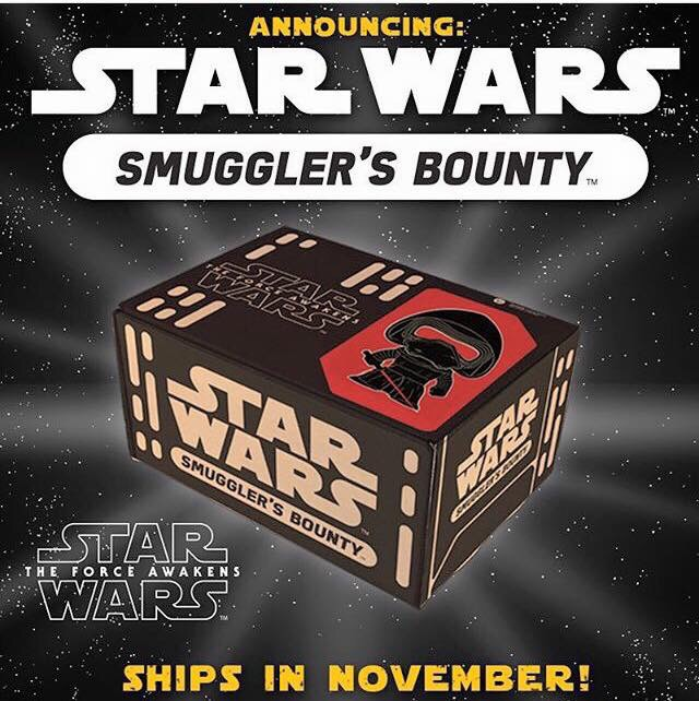 Funko Announce Star Wars Smuggler's Bounty Subscription Box