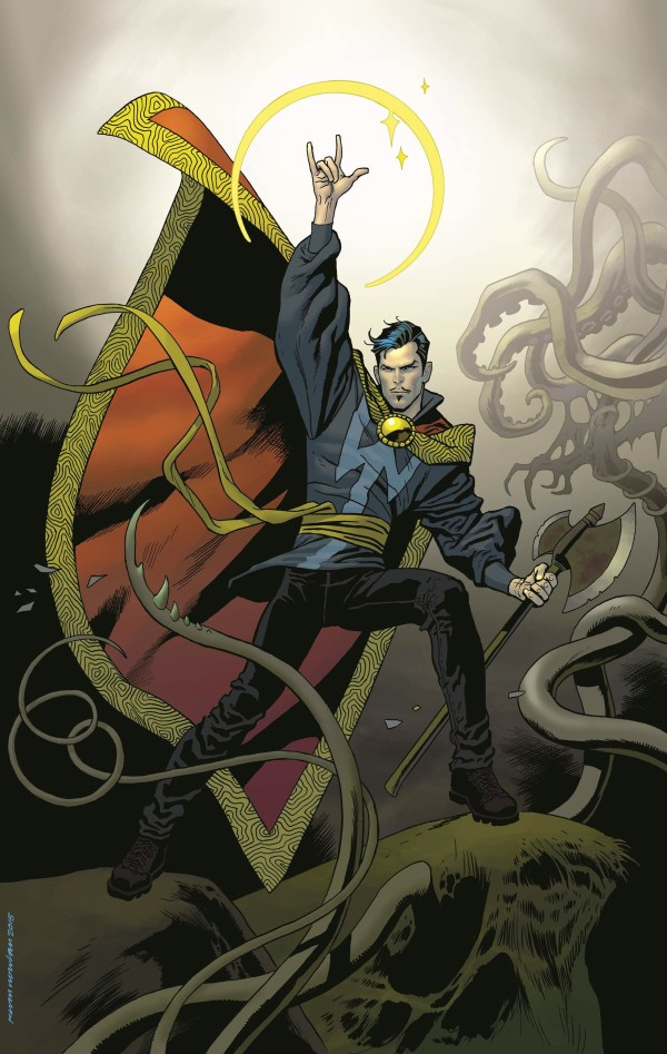 The Doctor Is In! Your First Look at DOCTOR STRANGE #1!