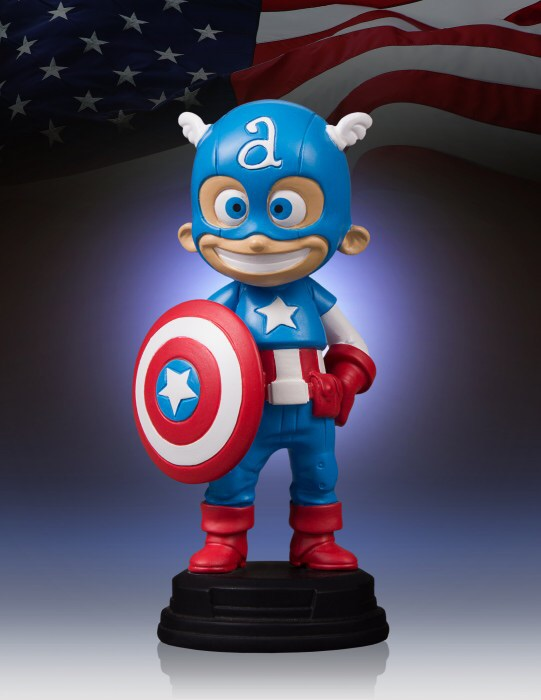 Details On A Captain America Figure From Gentle Giant