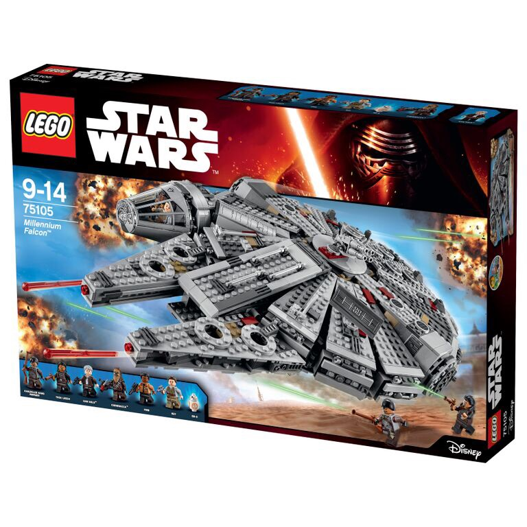 Details On Star Wars: The Force Awakens Millennium Falcon LEGO Set