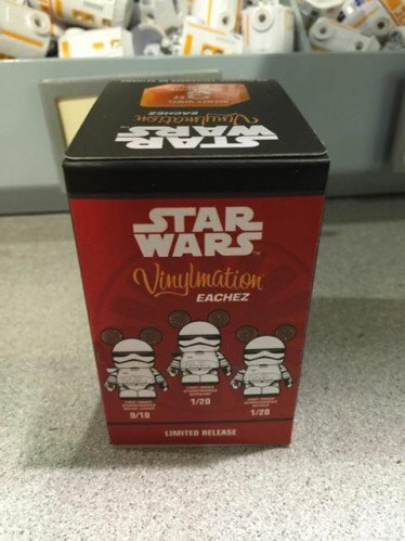 Star Wars: The Force Awakens First Order Stormtrooper Vinylmation Eachez Released
