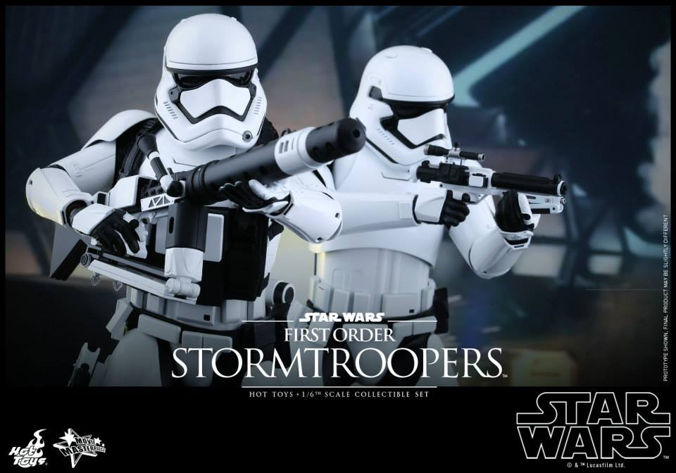 Details On Star Wars: The Force Awakens Stormtrooper Hot Toys Figure