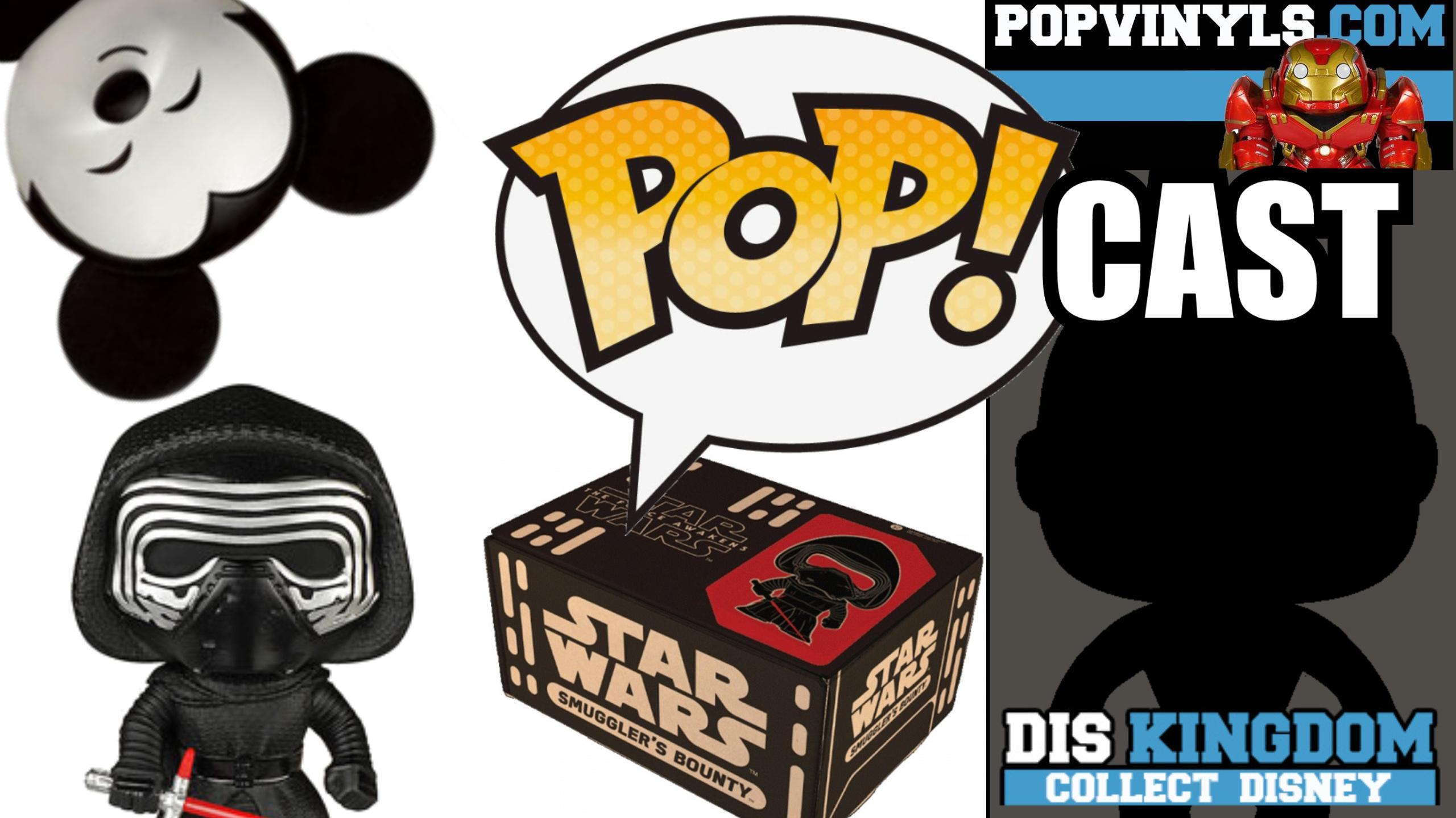 Star Wars Smugglers Bounty, Force Awakens Pop Vinyls, Disney Dorbz & More  – Popcast