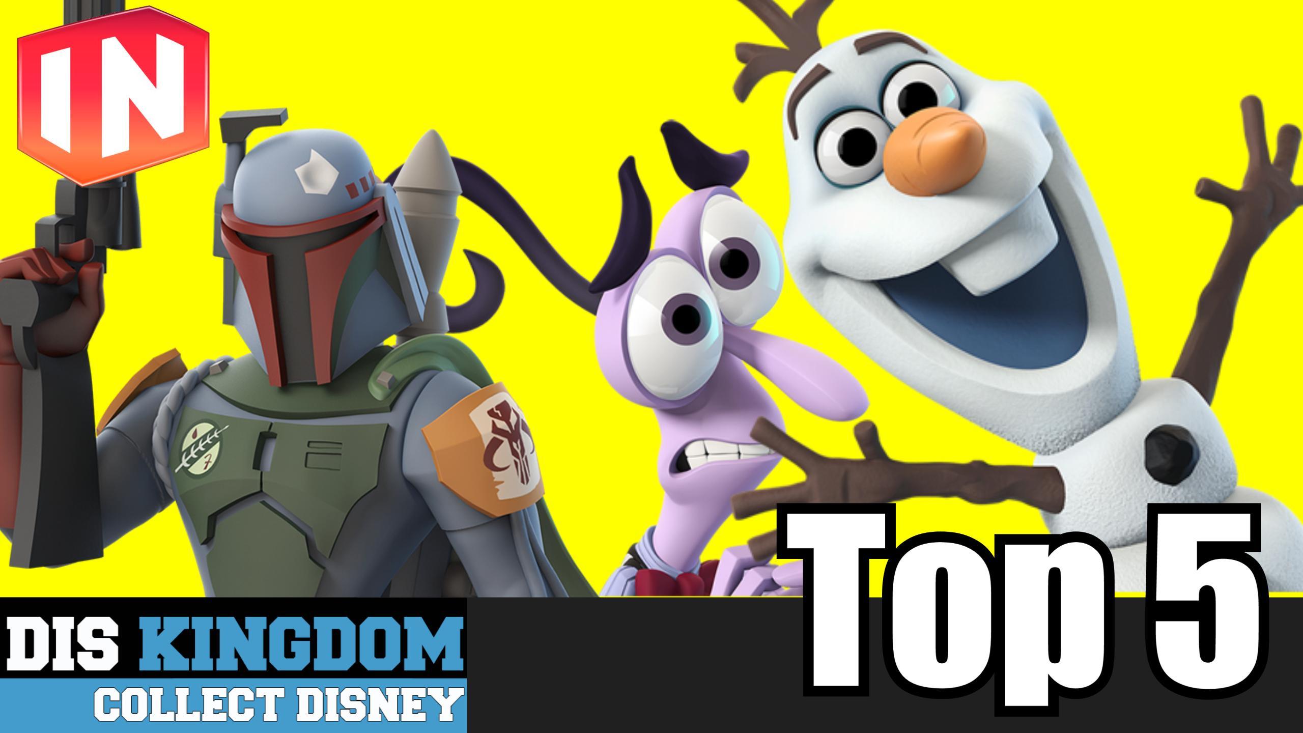 My Top 5 Disney Infinity 3.0 Characters