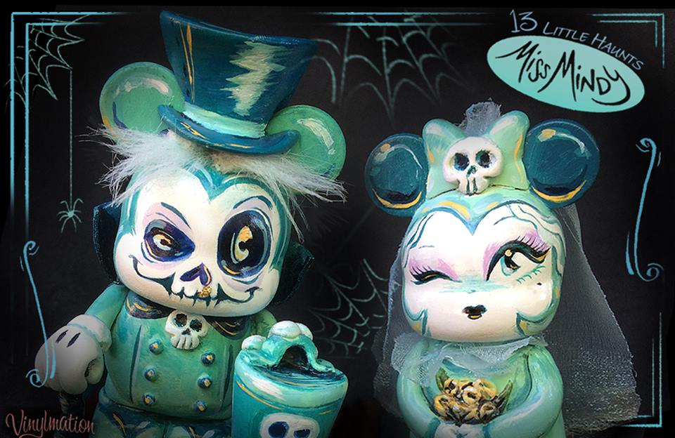 Miss Mindy's Little Haunt Series 3 Vinylmations Out This Friday