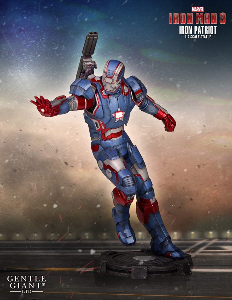 Details On Gentle Giant's Iron Patriot Statue
